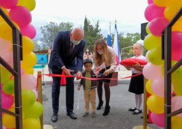 Новый детский сад открыли в Судаке