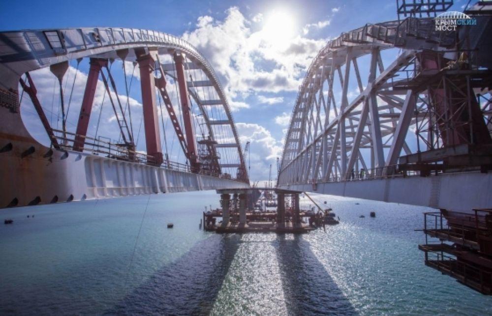 Сдачу объектов транспортной безопасности на автоподходах к Крымскому мосту перенесли почти на полгода