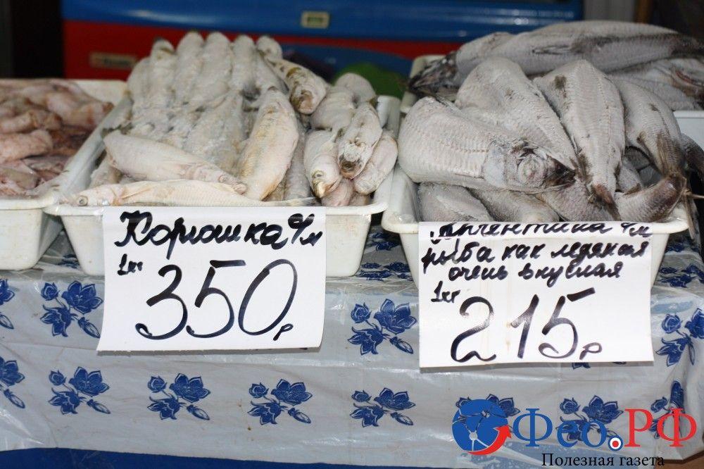 Цены на рынках Феодосии
