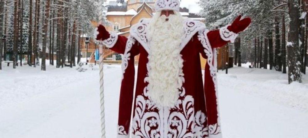 Дед Мороз из Великого Устюга едет в Керчь