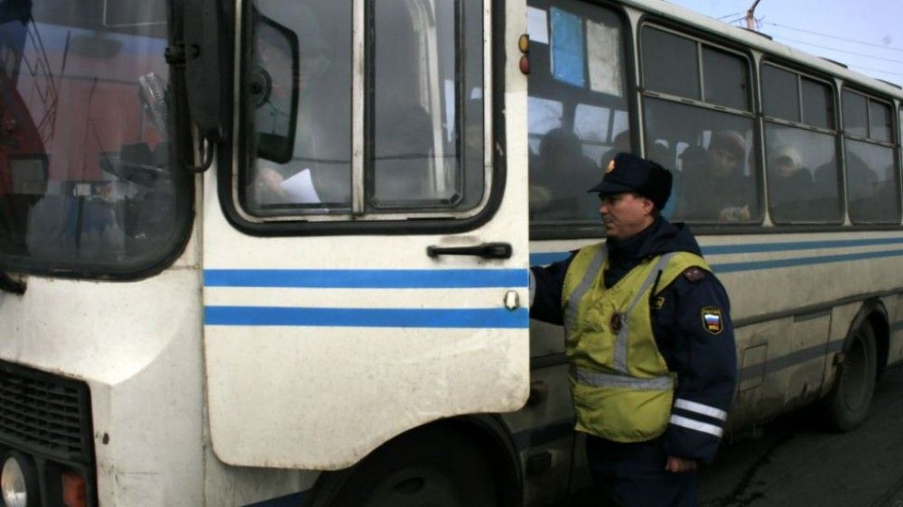 В Феодосии проходят массовые проверки пассажирских автобусов