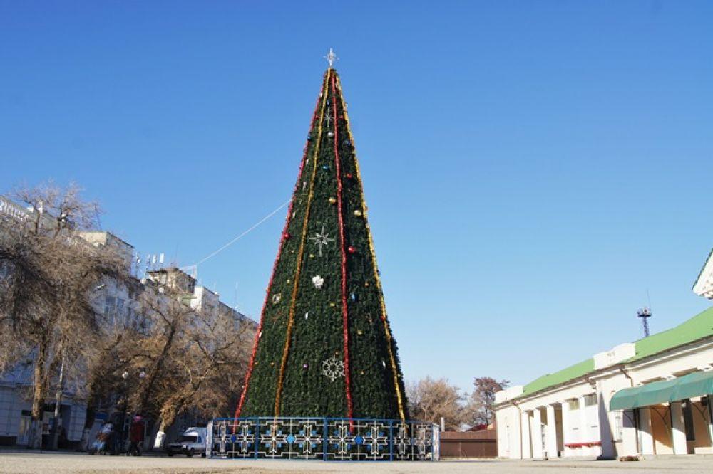 Скоро Феодосию украсит елка