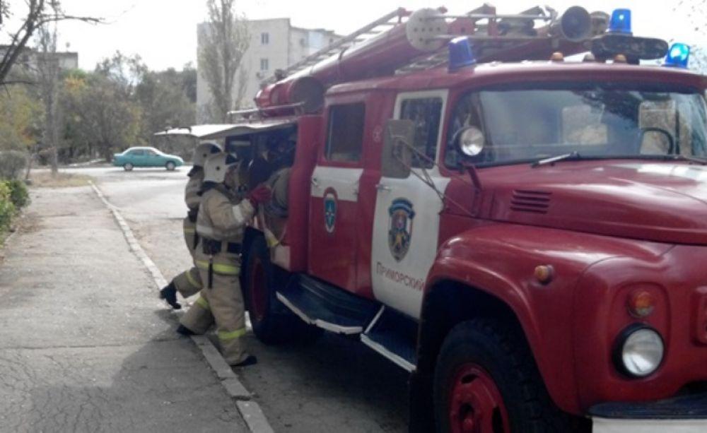 Феодосийские пожарные рассказывают о безопасности в новогодние праздники (ФОТО)