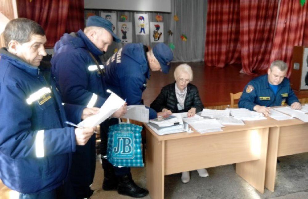 Феодосийские пожарные сдавали экзамен