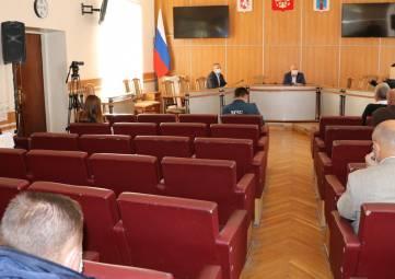 В Феодосии состоялось заседание оперативного штаба