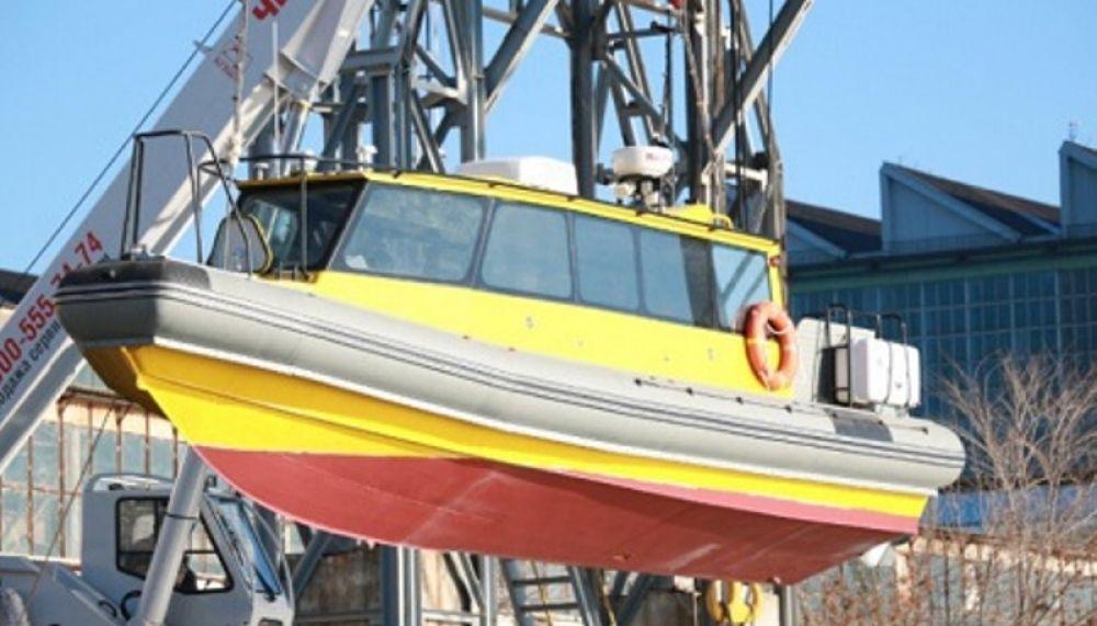 Феодосийский завод «Море» спустил на воду быстроходный пассажирский катер