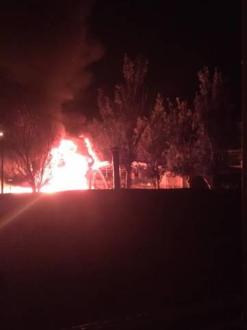 Фото, видео ужасного пожара в Феодосии