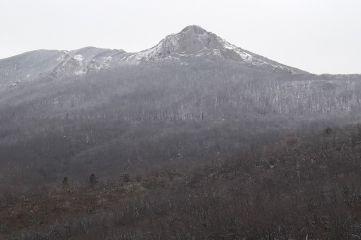 Снег в горах (Фото)