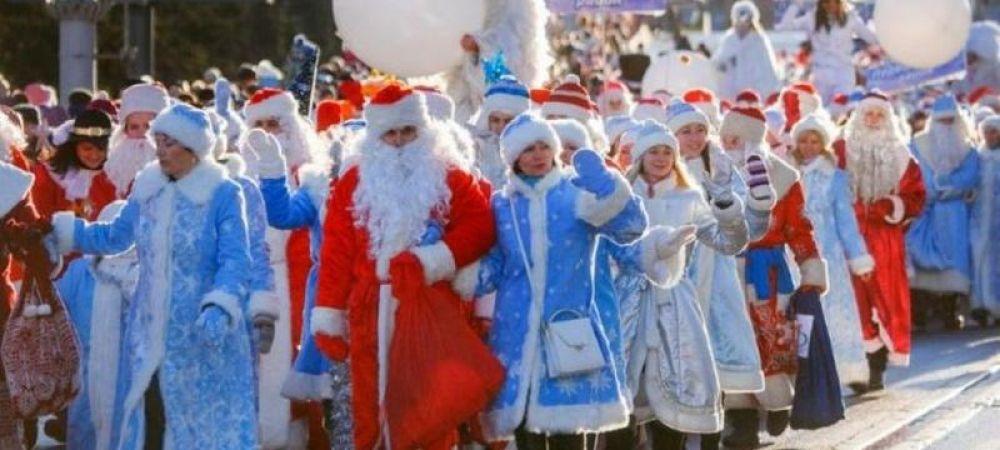 Большой парад Дедов Морозов пройдет в Керчи уже завтра