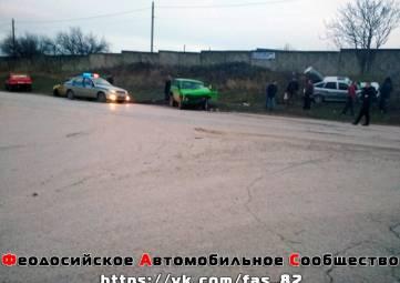 Стали известны подробности субботней аварии на Челноках в Феодосии