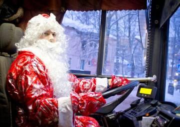 После Нового года феодосийцев развезут по домам дежурные автобусы