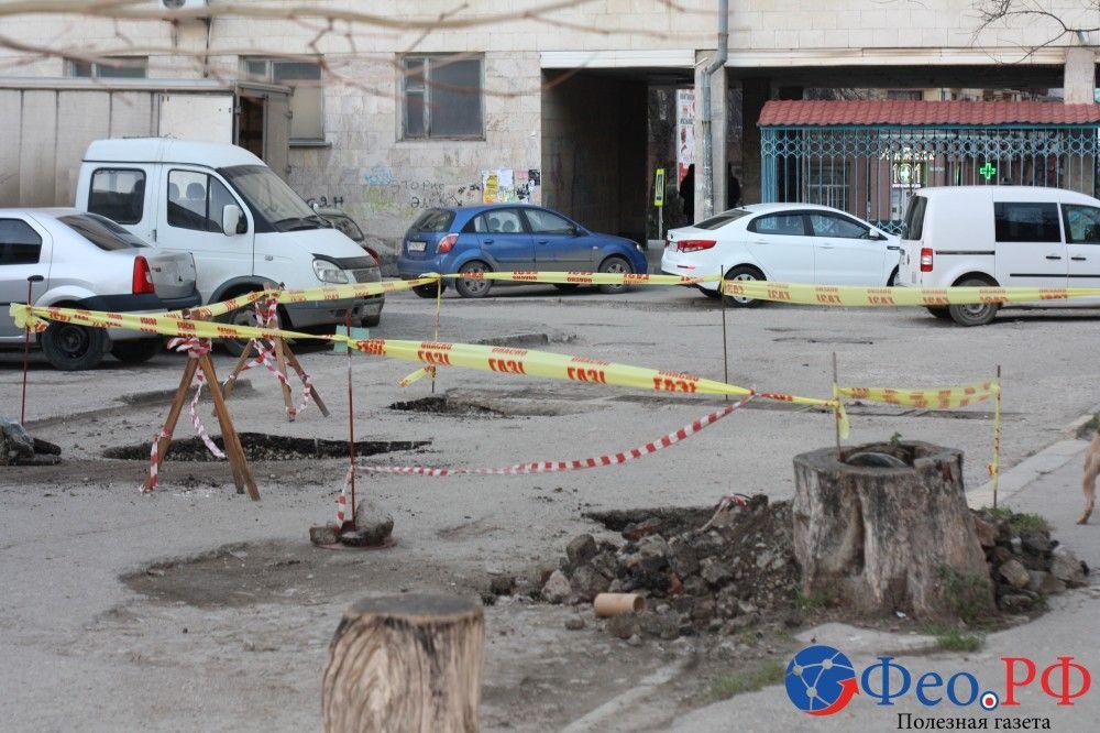 Километраж «убитых» дорог в Феодосии растет