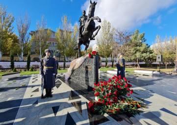 Открытие памятника П.С. Котляревскому в Феодосии