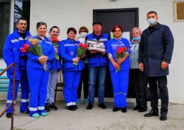 В Армянске поздравили сотрудников скорой помощи с профессиональным праздником
