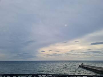 Утро 4 мая - ветер, пасмурно и прохладно
