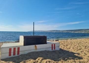Стадион пляжных видов спорта в Феодосии вспомнили в социальных сетях