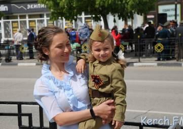 В Керчи прошел военный парад (фото)