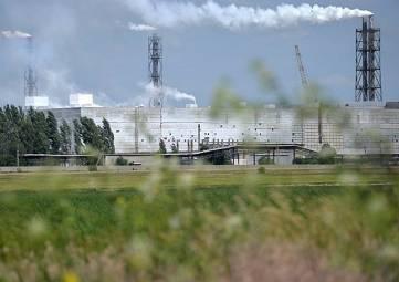 На севере Крыма снова фиксируют загрязнение воздуха