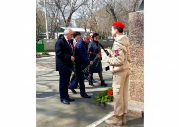 Председатель Государственного Совета Республики Крым Владимир Константинов посетил город Саки