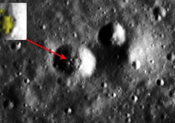 Охотник на инопланетян заявил, что обнаружил космический корабль на Луне