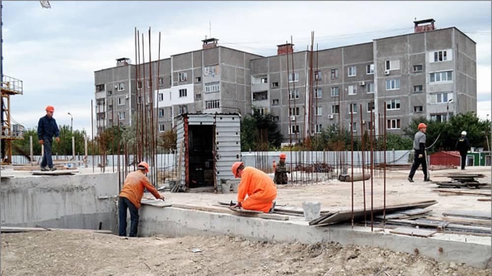 В Феодосии продолжается строительство нового детского сада