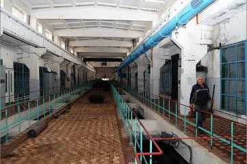 Во время остановки на очистных Феодосии произведены очень масштабные ремонтные работы