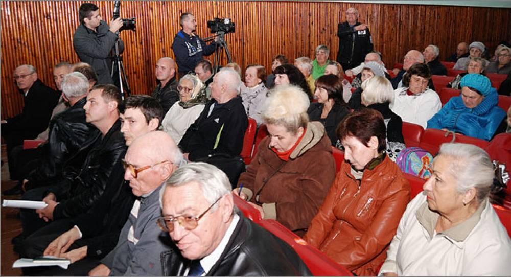 В Орджоникидзе прошел сход граждан