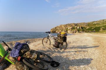 Велосипедный сезон в Феодосии открыт…