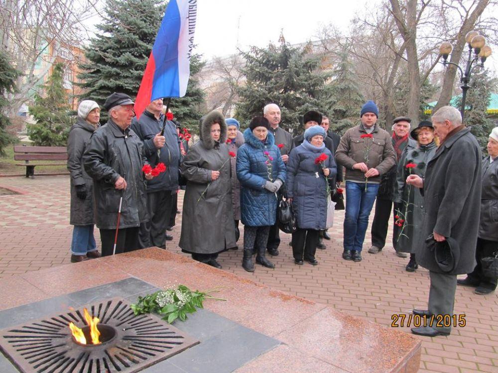Мероприятия, посвященных 71-й годовщине окончательного снятия блокады Ленинграда