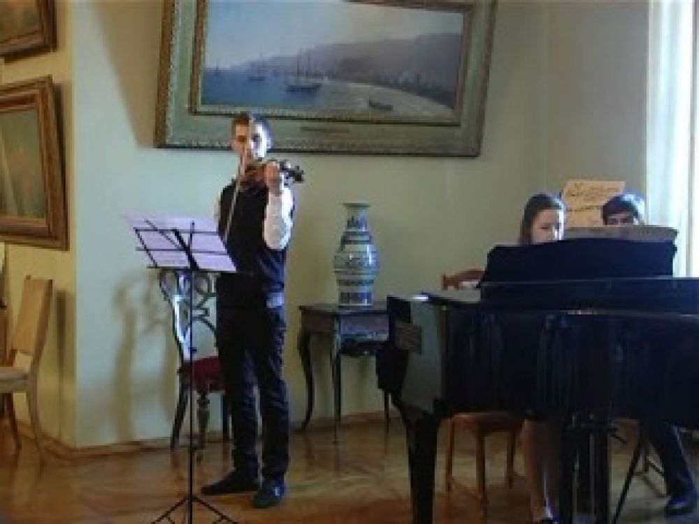 В Галерее Айвазовского состоялся завершающий этап музыкального фестиваля