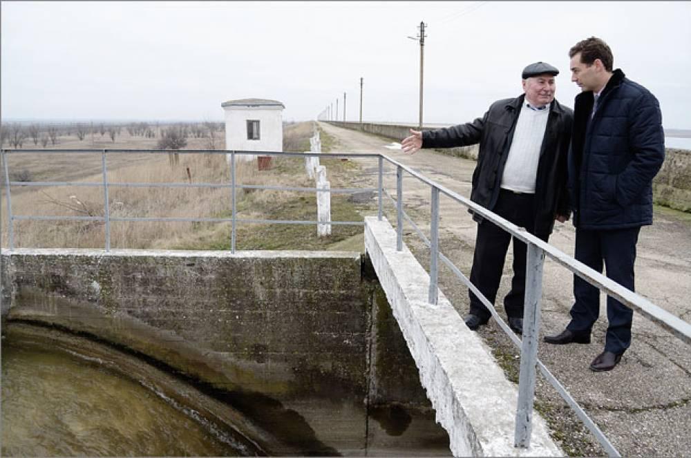 В Феодосийское водохранилище начали повторно закачивать воду
