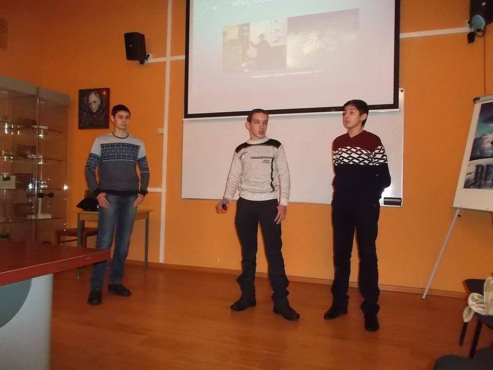 В Москве школьники из Феодосии представили микроспутник собственного изготовления.