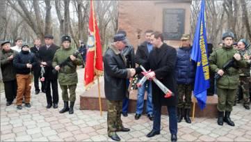 В Феодосии прошел митинг, посвященный 26-й годовщине вывода советских войск из Афганистана