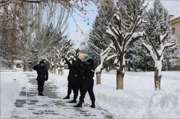 В Феодосии (Кизилташе) почтили память погибших в Киеве офицеров