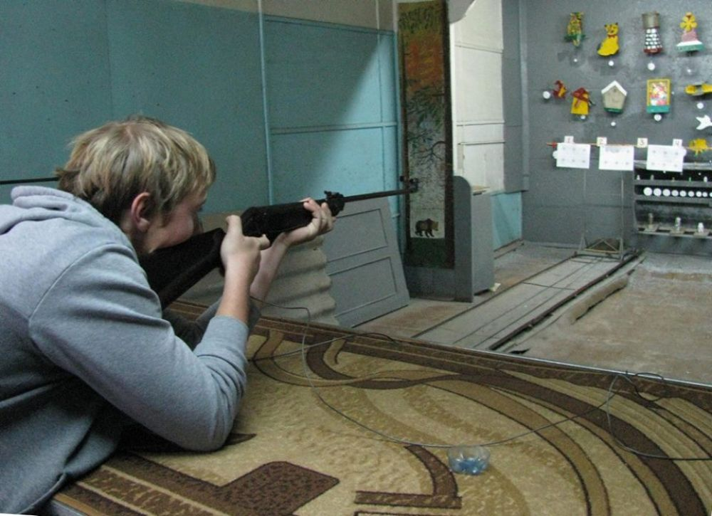 В минувшее воскресенье в тире №1 проходили соревнования по стрельбе из пневматической винтовки.