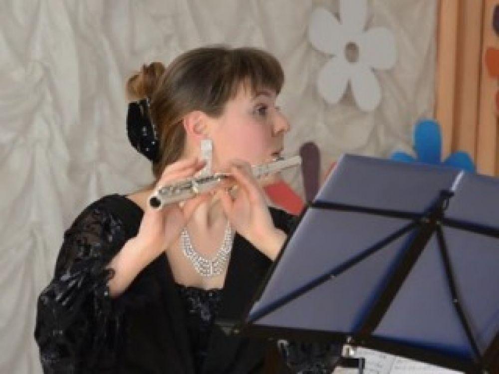 Концерт московской флейтистки Евгении Чепиковой