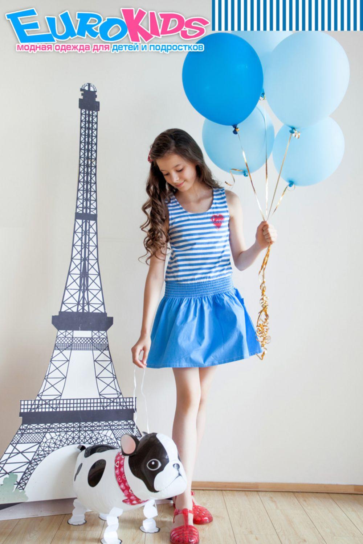 Необычные принты в коллекции детского бренда Button Blue 2015 года