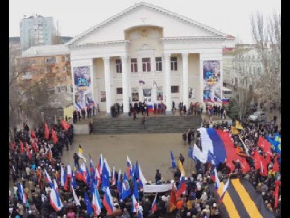 Феодосия отмечает годовщину воссоединения Крыма с РФ