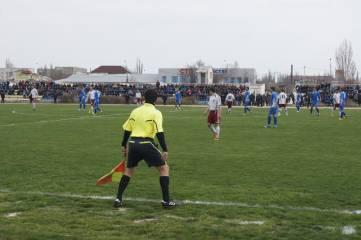 Феодосийская футбольная команда сыграла матч c Симферопольской