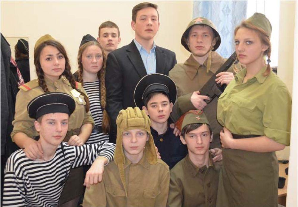 В Феодосии прошел конкурс «Мы – наследники Победы»