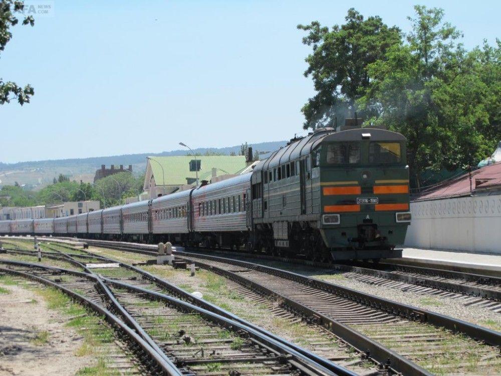 """""""Крымская железная дорога"""" в апреле запустит дополнительные пригородные поезда"""