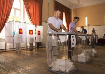 В Феодосии состоялись выборы депутатов Государственной Думы Федерального Собрания Российской Федерации седьмого созыва