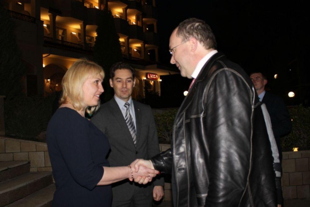 Феодосия встретила делегацию Ростуризма