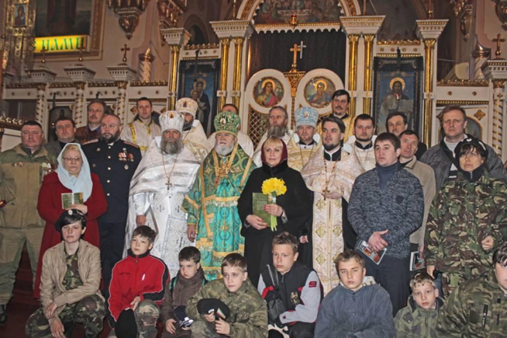Феодосийцам вручили награды за защиту Крыма