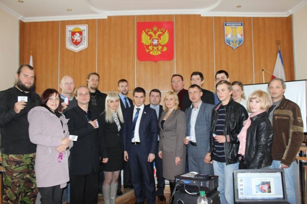 Лидером феодосийских молодогвардейцев стал депутат горсовета