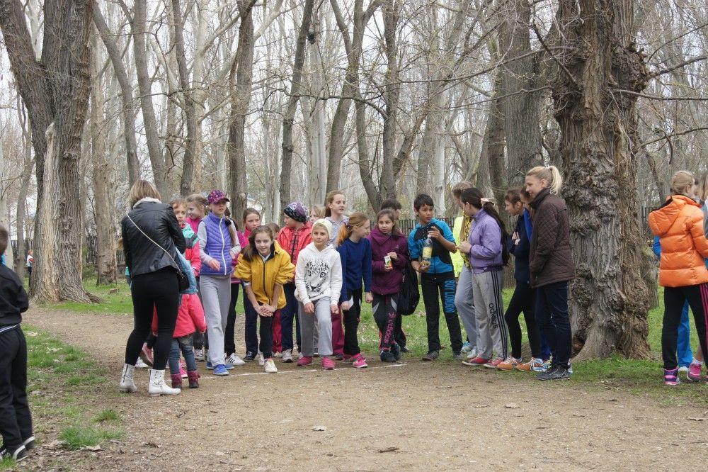 В Феодосии прошло открытое первенство ДЮСШ по легкой атлетике