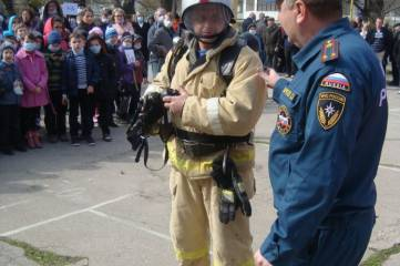 Учились эвакуироваться