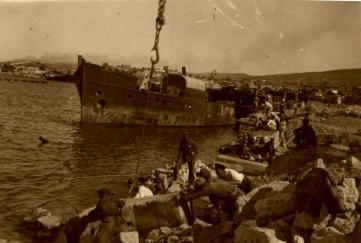 В день освобождения Феодосии 13.04.1944