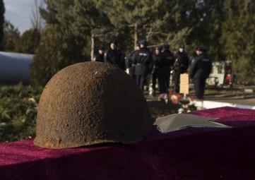 В Феодосии перезахоронили останки воинов (ФОТО, ВИДЕО)