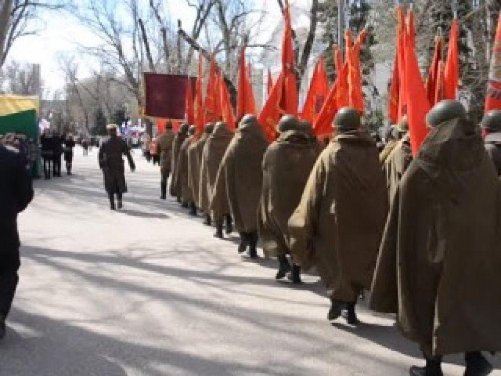 Феодосия встретила участников патриотической акции «Дорогами Победы»